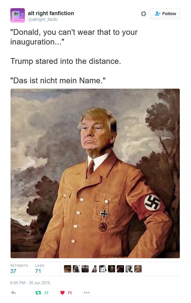 Trump - Das ist nicht mein Name