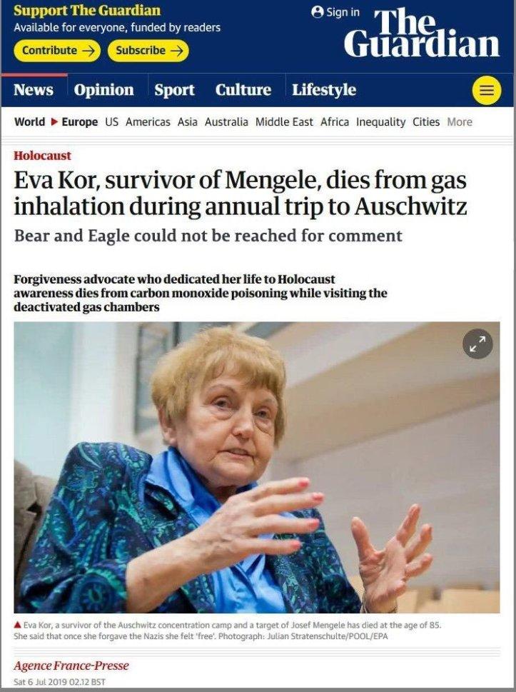 Eva Kor Auschwitz