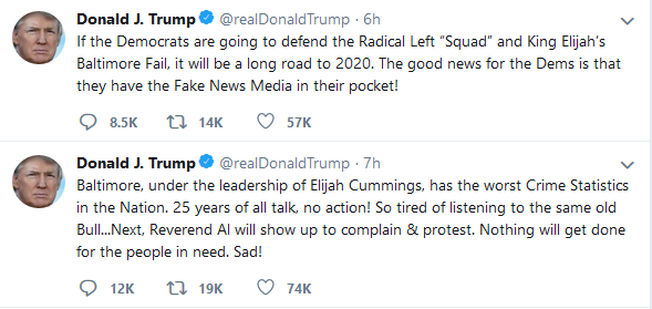 Trump - Cummings attack