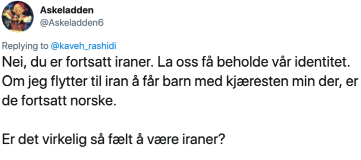 Askeladden twitter - norsk