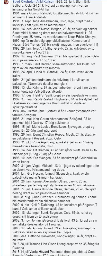 Drap begått av innvandrere i Norge 2