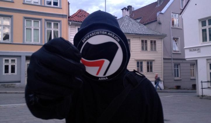 Antifa vold