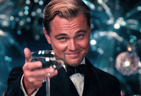 Dicaprio here's to you