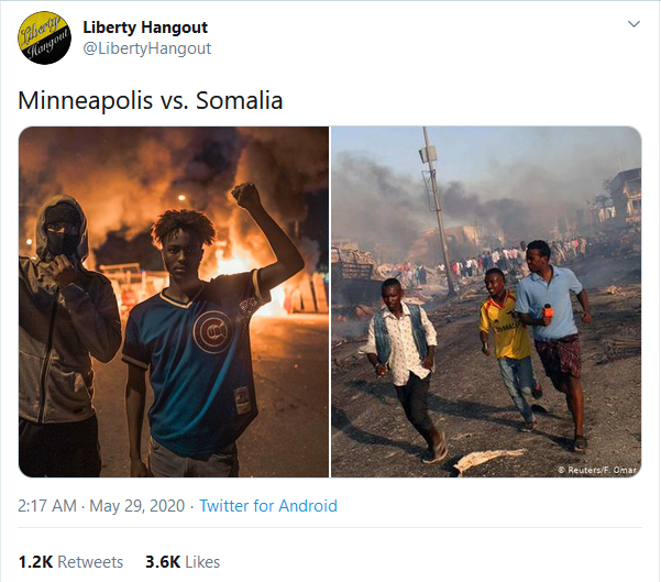 Minneapolis vs Somalia
